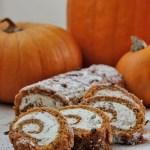 Stracciatella Cream Cheese Pumpkin Roll at FoodApparel.com