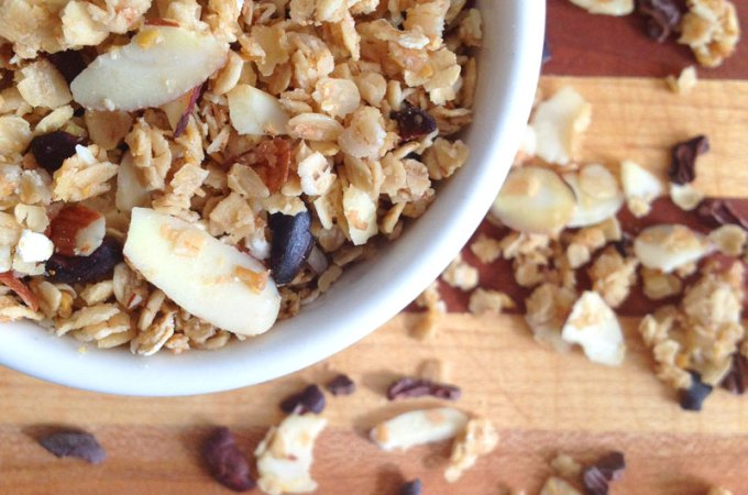 Healthy Cocoa Nib Granola Recipe
