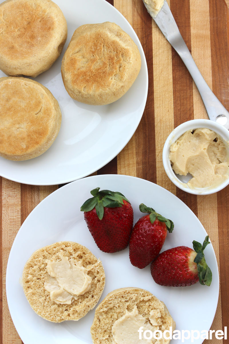 Honey Wheat English Muffins at FoodApparel.com