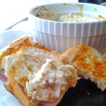 Hot Cheesy Artichoke Dip at FoodApparel.com