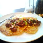 Boxty (Irish Potato Pancake) at FoodApparel.com #stpatricksday