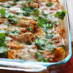 Chicken Enchiladas at FoodApparel.com