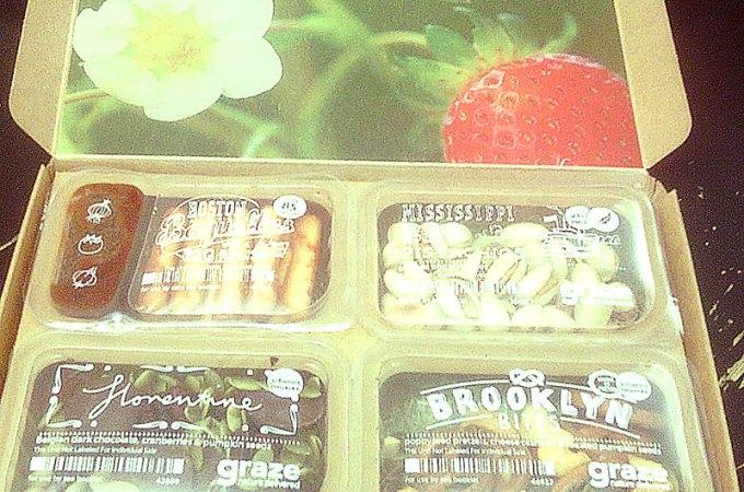 """Graze.com """"nibblebox"""" review and promo code at FoodApparel.com"""