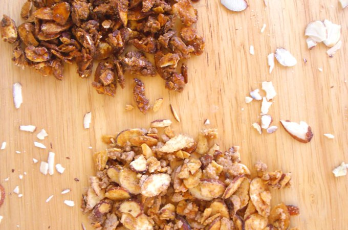 Quick and Easy Candied Almond Slices Recipe