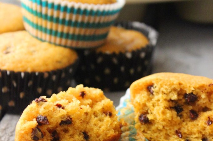 Easy Mini Chocolate Chip Pumpkin Muffins Recipe