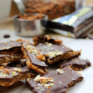 Homemade Almond Roca. Delicious Roca at fractions of the price! Recipe by FoodApparel.com