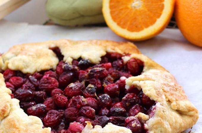 Cranberry Orange Ginger Galette Recipe - Step by Step tutorial!