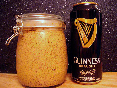 Spicy Guinness Mustard