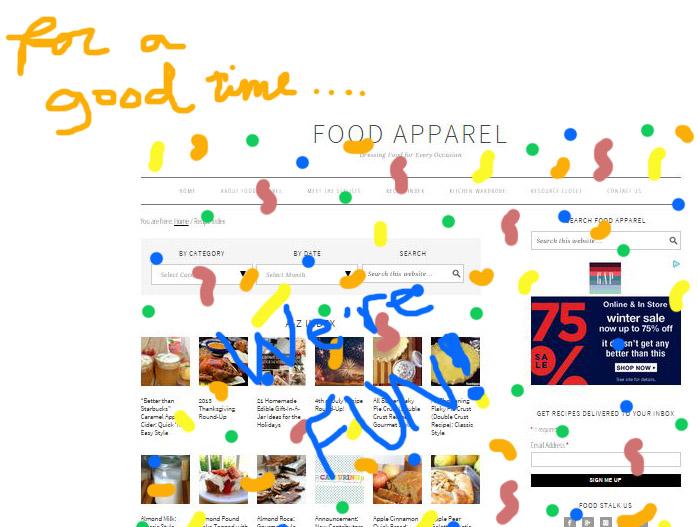 food apparel FUN