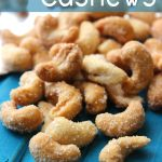 Honey Roasted Cashews Recipe - an easy and healthy snack! @foodapparel