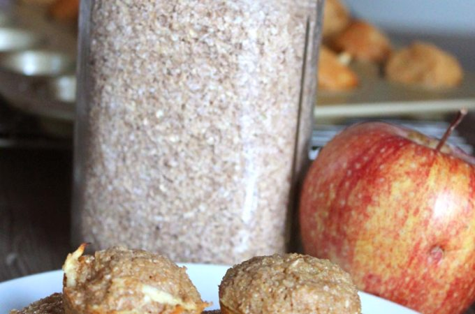 Healthy Apple Bran Muffin Recipe (Mini-Style)