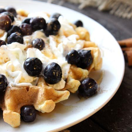 Easy Coconut Cinnamon Waffles Recipe