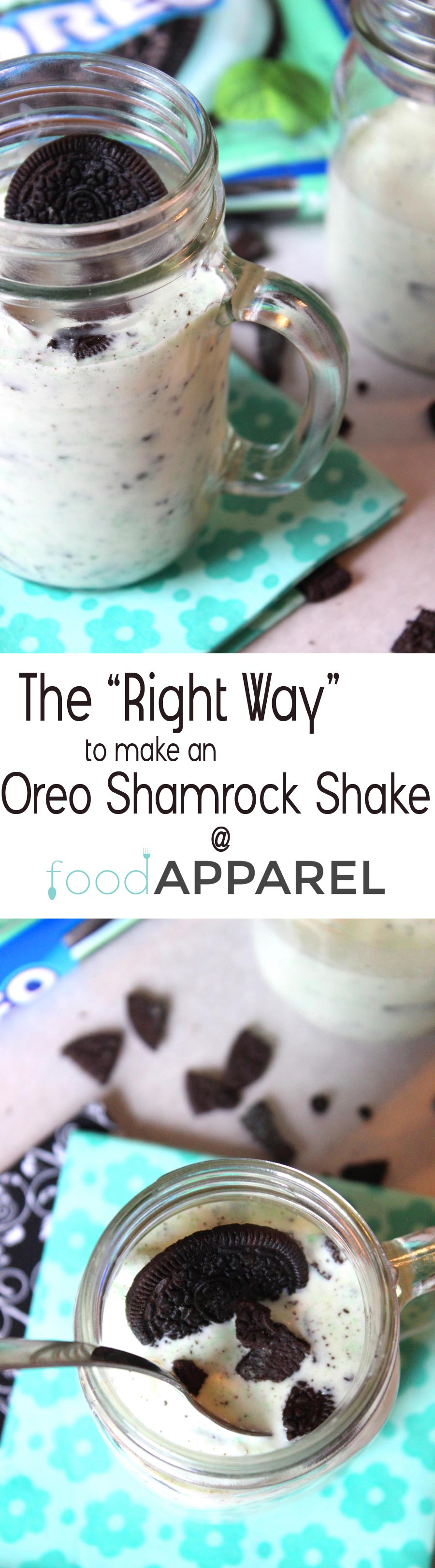 """The """"Right Way"""" to make an Oreo Shamrock Shake! A couple of quick tips to make your shake rock your world!"""