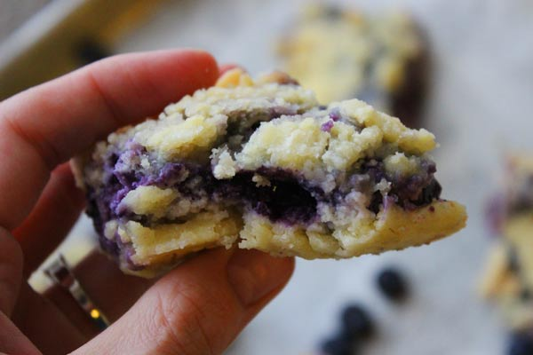 Easy Blueberry Bars Recipe