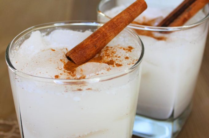 Coconut Horchata! Oh yeah! (dairy-free version, and also a classic version as well)