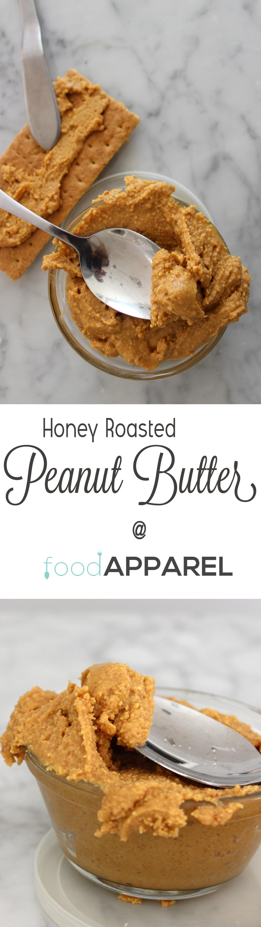 Honey Roasted Peanut Butter Recipe - this is so easy to make and so delicious!
