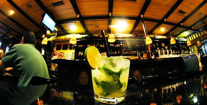 Mojito cocktail in bar