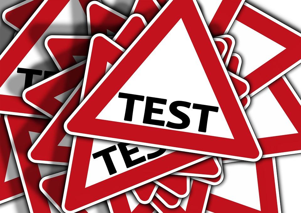 Test label