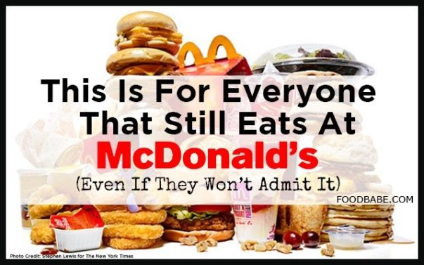 Image result for free blog pics of tainted Mcdonald's food