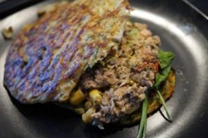 Grøntsagsbrød med tun i avocado og tangpesto (4)