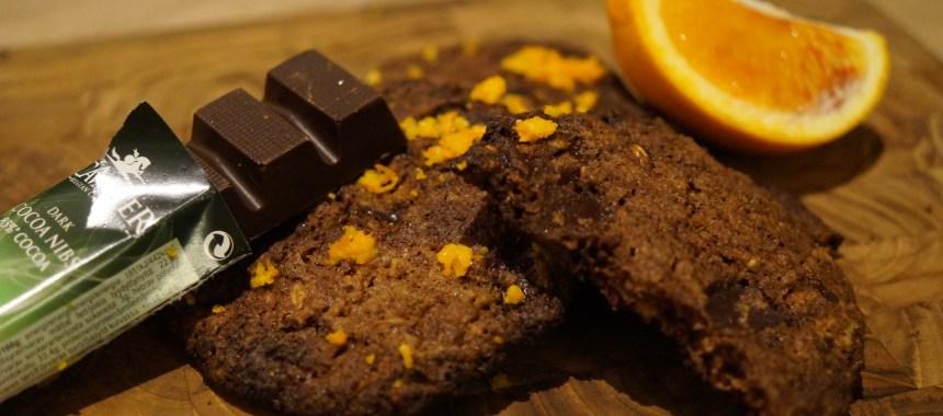 Sukkerfri knasende kæmpe cookies (for sharing)