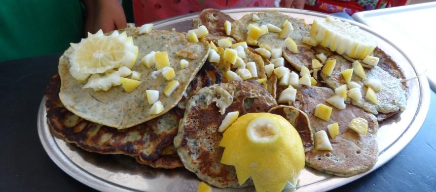 Brændende pandekager – med brændenælde
