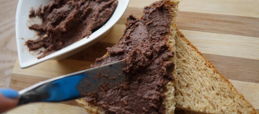 Proteinrig Nutella (med rigtig chokolade)