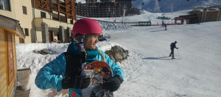 Postkort fra Val Thorens – snowboard ferie
