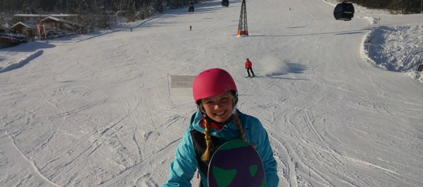 Postkort fra Wagrain – Snowboard ferie