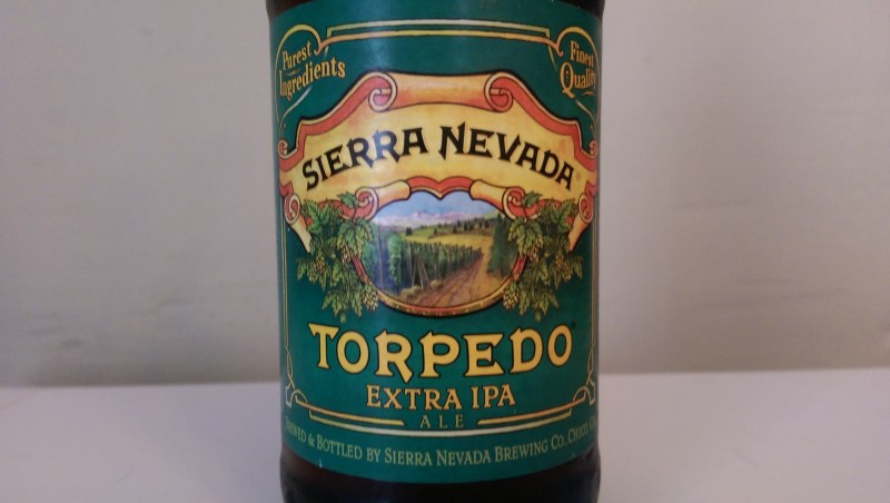 Brewed with the use of Sierra Nevada's new Hop Torpedo.