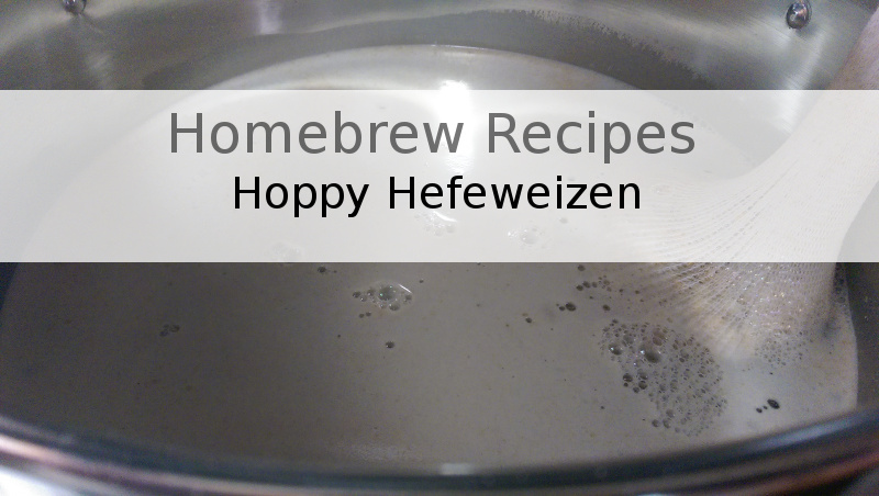 The traditional Hefeweizen with a nontraditional hop schedule.