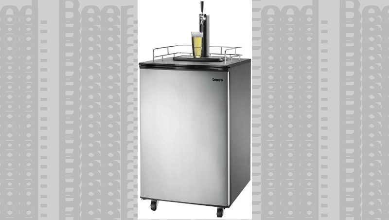 Step their game up with this Home Draft Beer Kegerator.