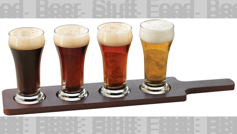 Up Up and Away... This Beer Flight Set makes a great gift for your beer lover.