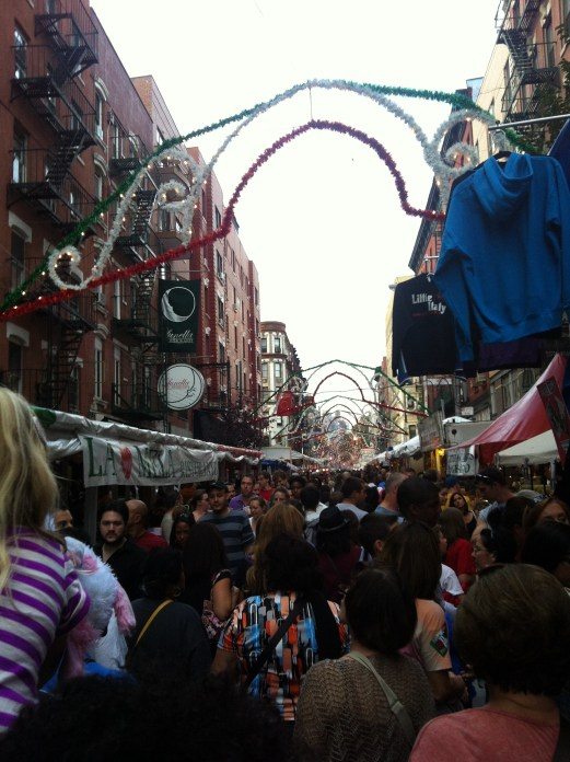 Feast of San Gennaro 2012
