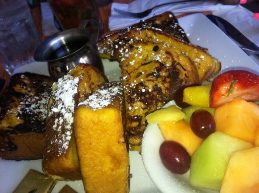 Front Porch Cafe french toast