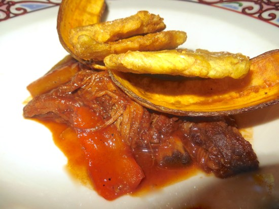 Ropa Vieja with Tostones