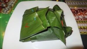 Banana Leaf Vegetable Lamprais