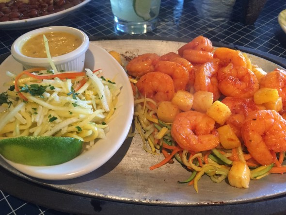 Uncle Julio's Shrimp Fajita's