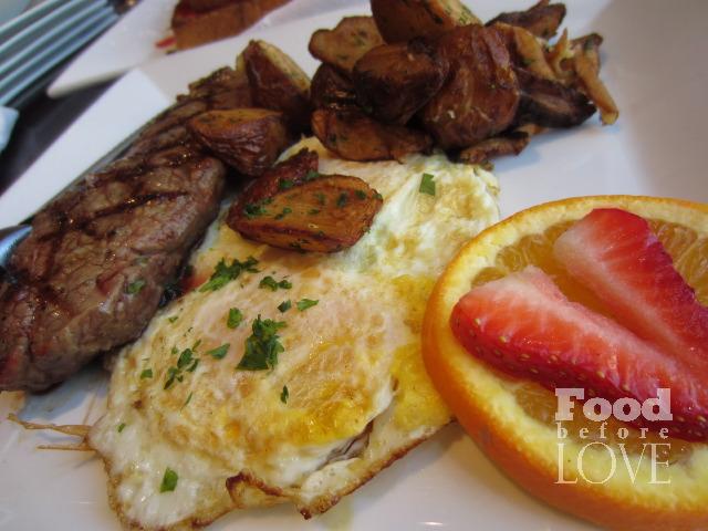 Steak and Eggs Ulah