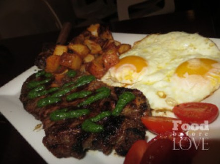 Lokal Steak and Eggs