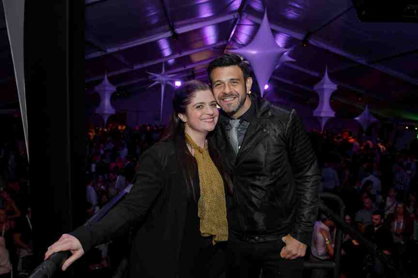 2014NewTasteUWS- Alex Guarnaschelli and Adam Richman LR