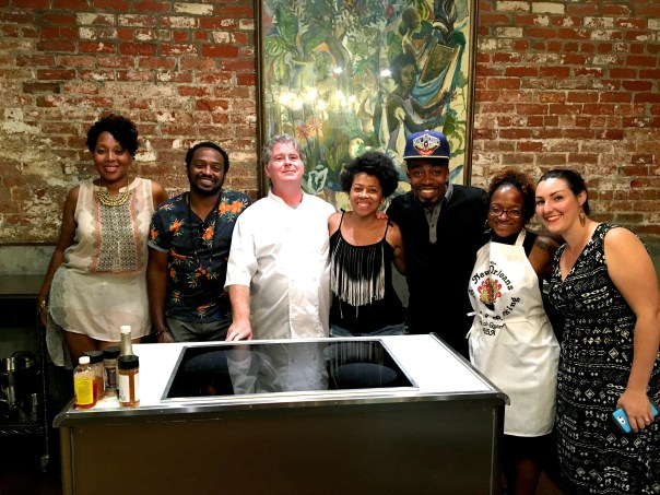 New Orleans School of Cooking chef