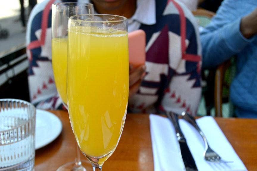 Cafe D'Alsce Mimosas