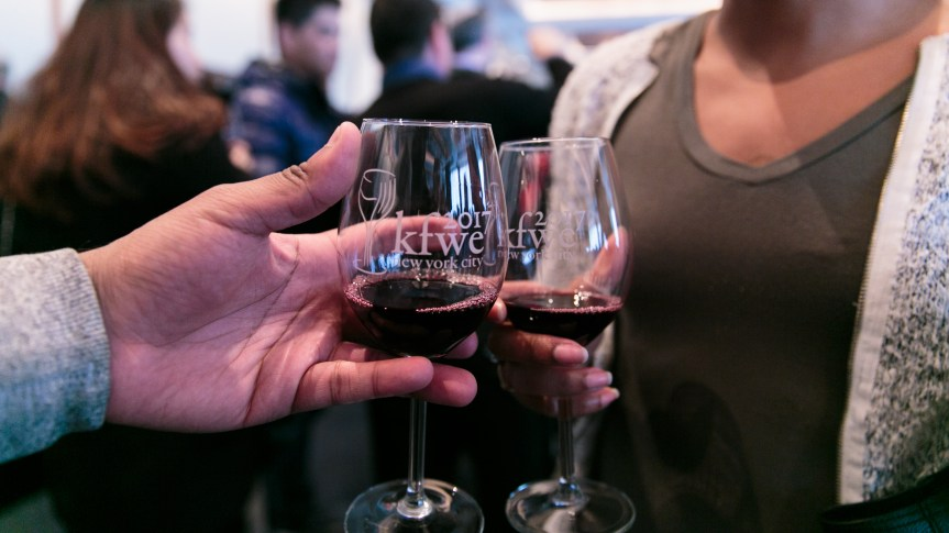 Kosher Food and Wine Expo Glasses