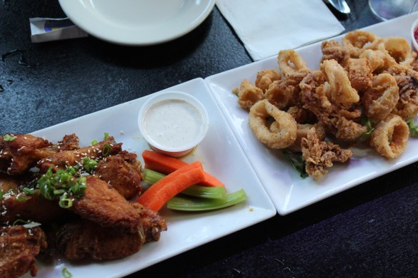 Calamari and Wings Mullanes