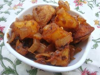 Kalyana Saapadu style Potato Fry