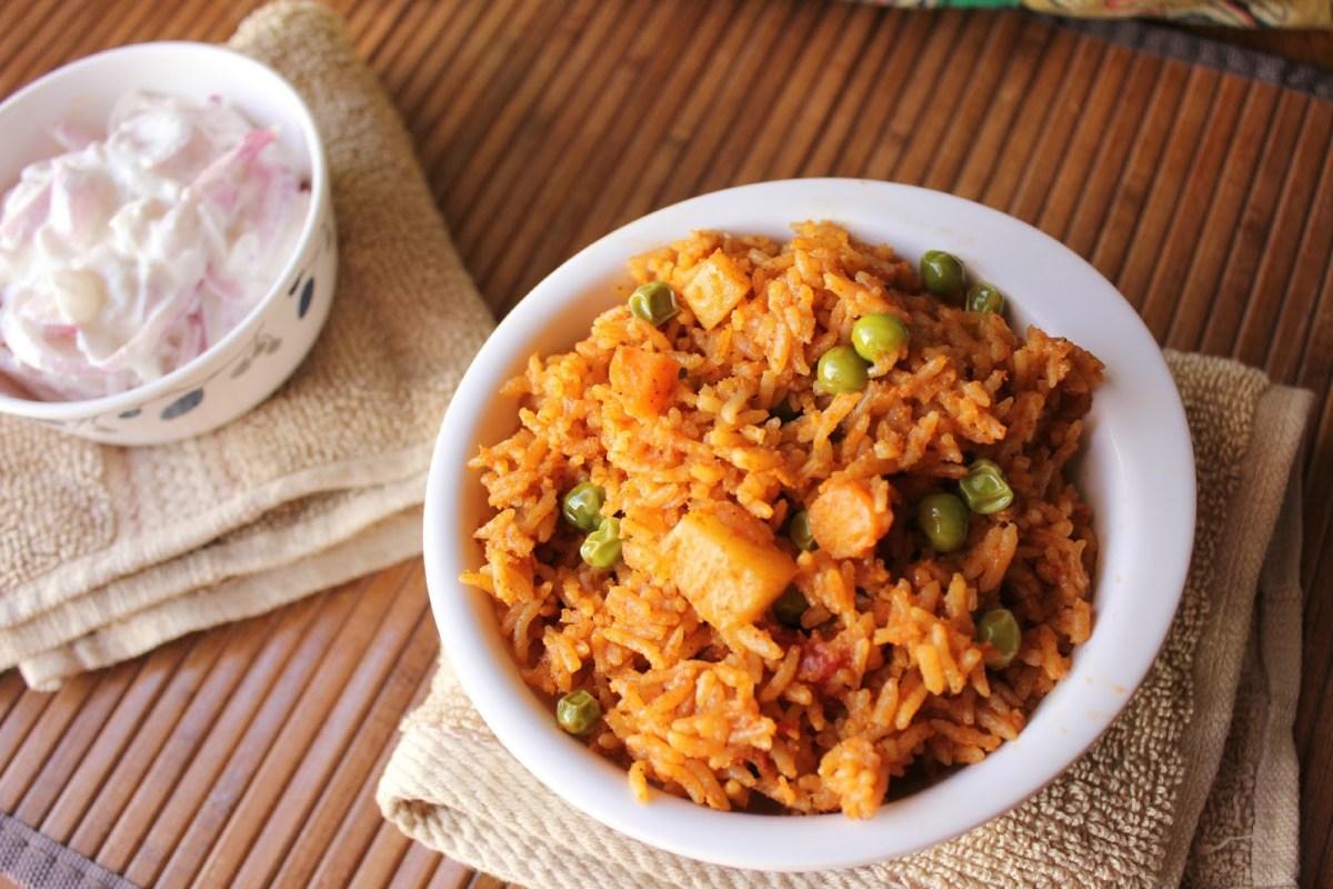 Varahadi Masale Bhaat – Maharashtra rice dish