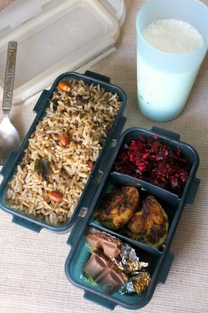 milagu rice,variety rice,lunch box