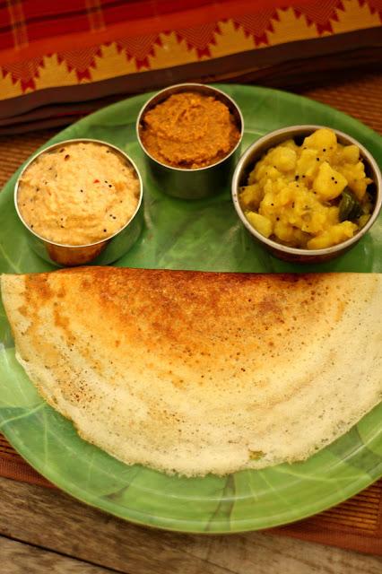 mysore masala dosa, paper roast