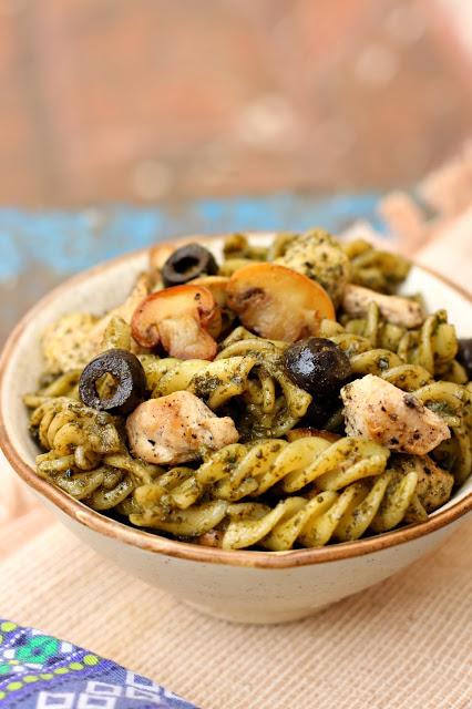 Basil Pesto Pasta1